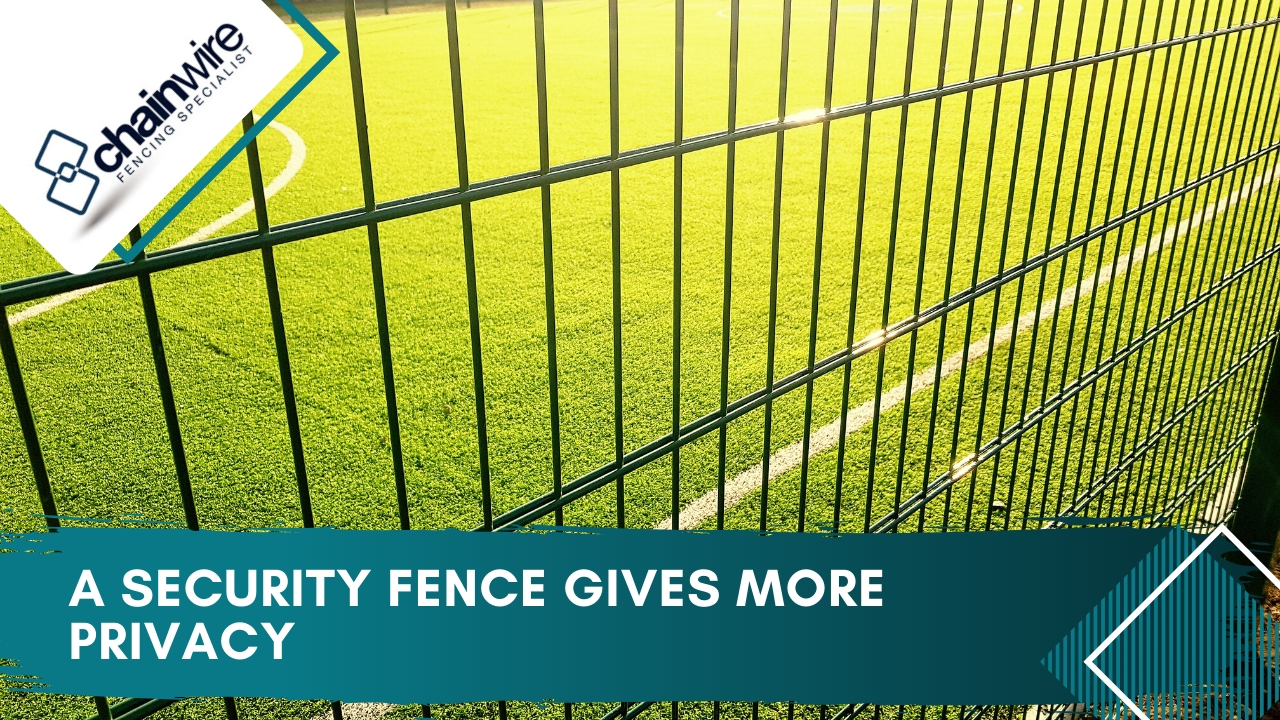 Security fences: the benefits and reasons to install